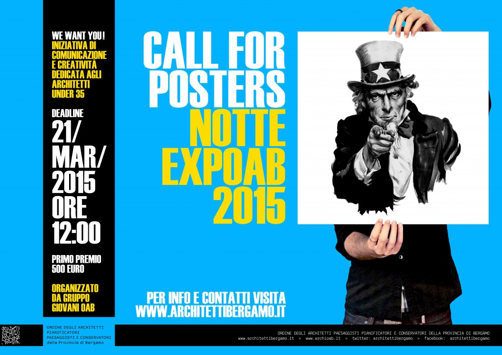 locandina Call for posters