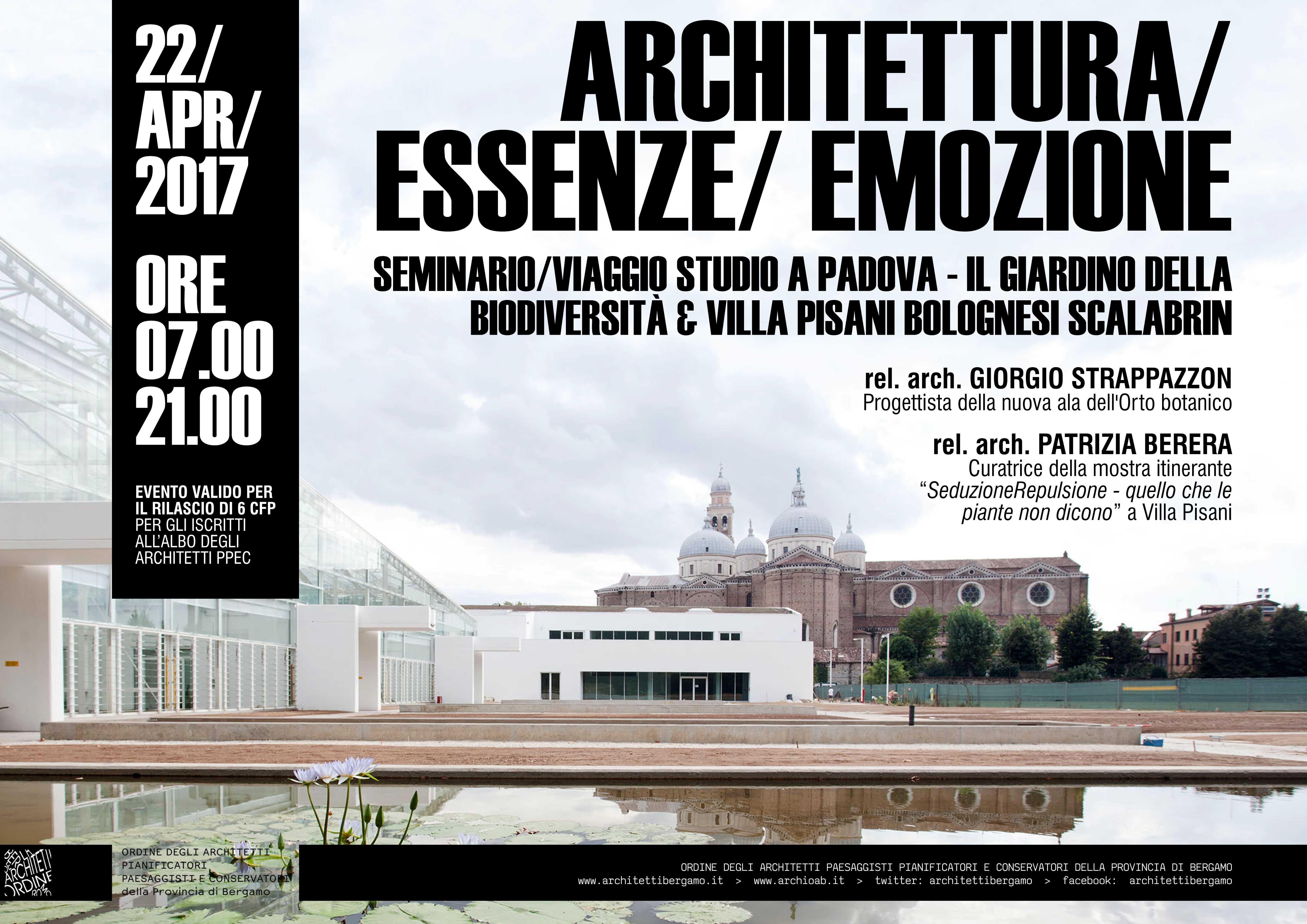 Architetti A Bergamo architettura | essenze | emozione | ordine degli architetti