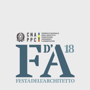 FESTA ARCHITETTO 2018