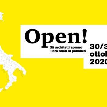 OPEN – STUDI APERTI 2020