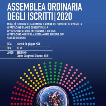 REPORT ASSEMBLEA 2020